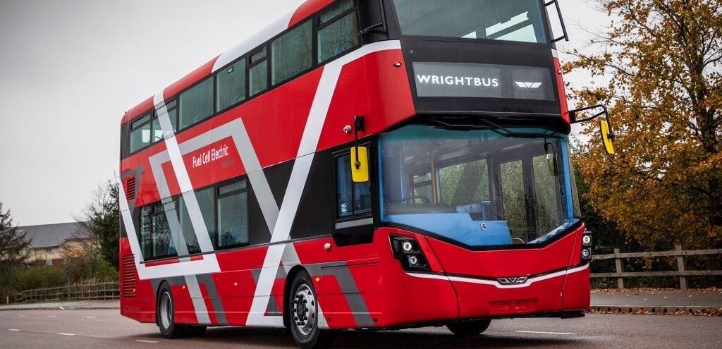 В Абердине появятся двухэтажные водородные автобусы