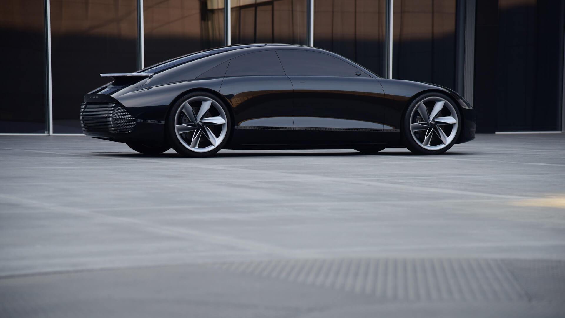 Экстерьер электрокара от Hyundai «Пророчество»