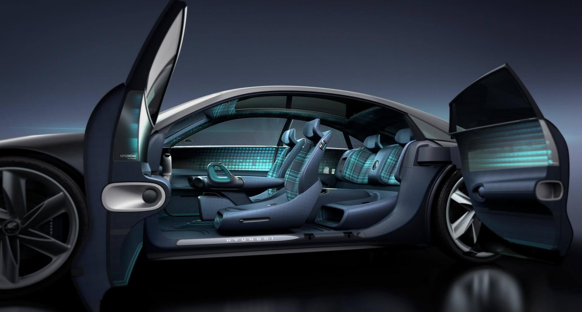 Салон концепта электрокара Hyundai «Пророчество»