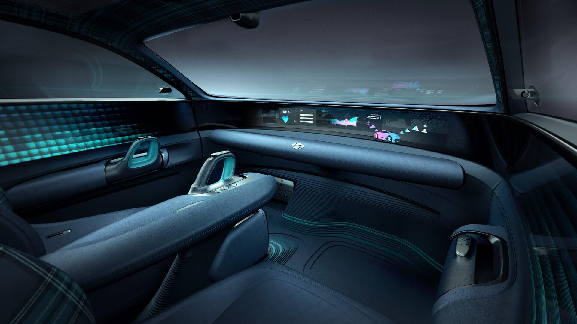 Интерьер: оптимальный комфорт иновая философия управления электромобилем