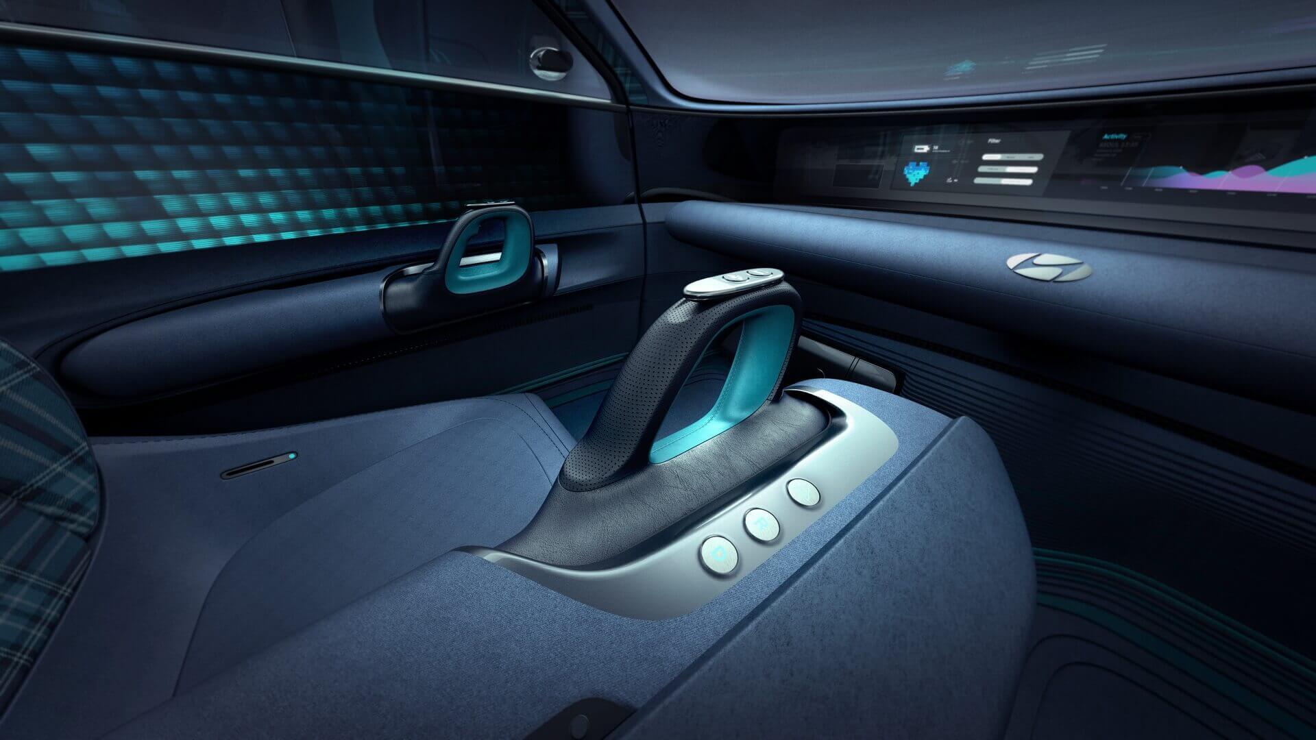 Интерьер концепта электрокара Hyundai «Prophecy»