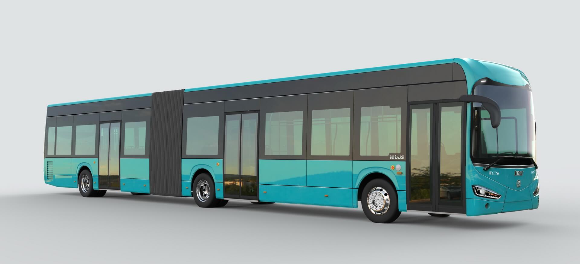 18-метровый электрический автобус Irizar