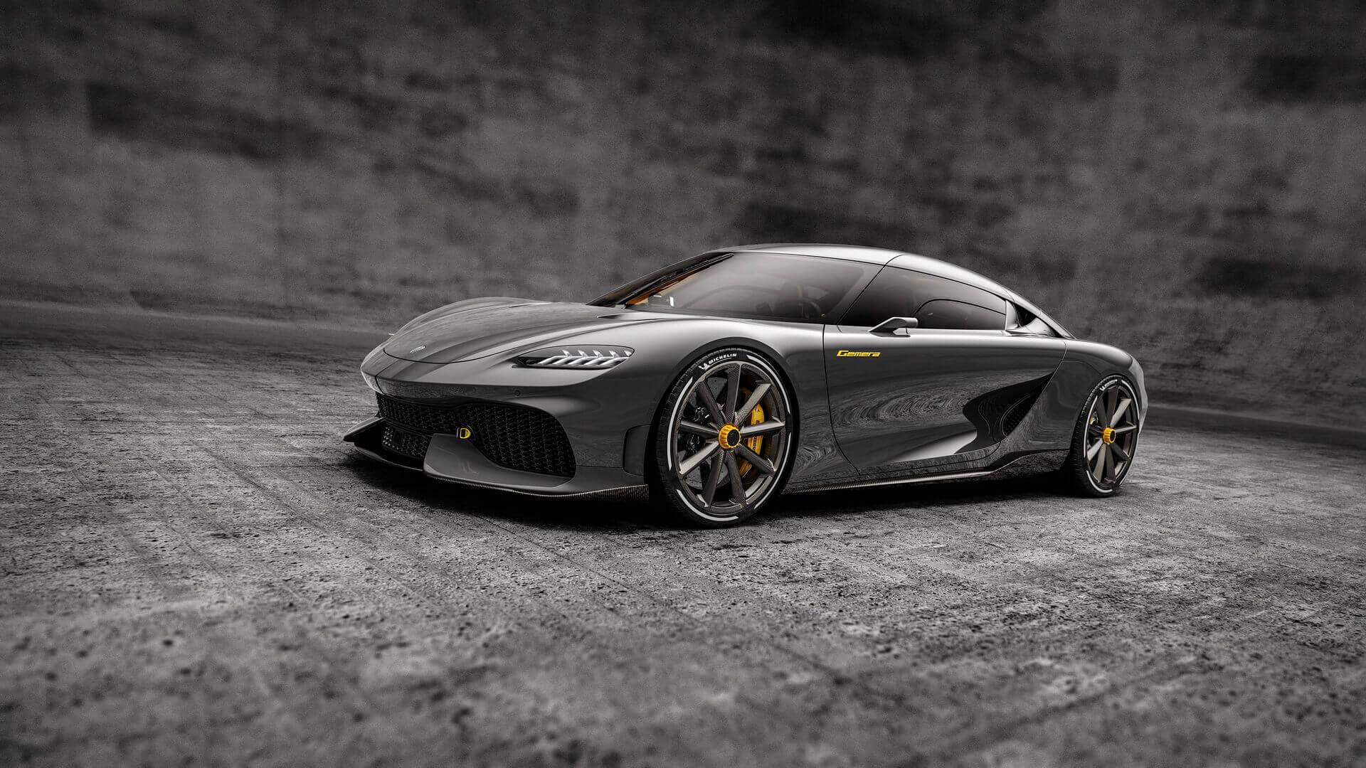 Koenigsegg планирует выпустить Gemera в ограниченном количестве из 300 экземпляров