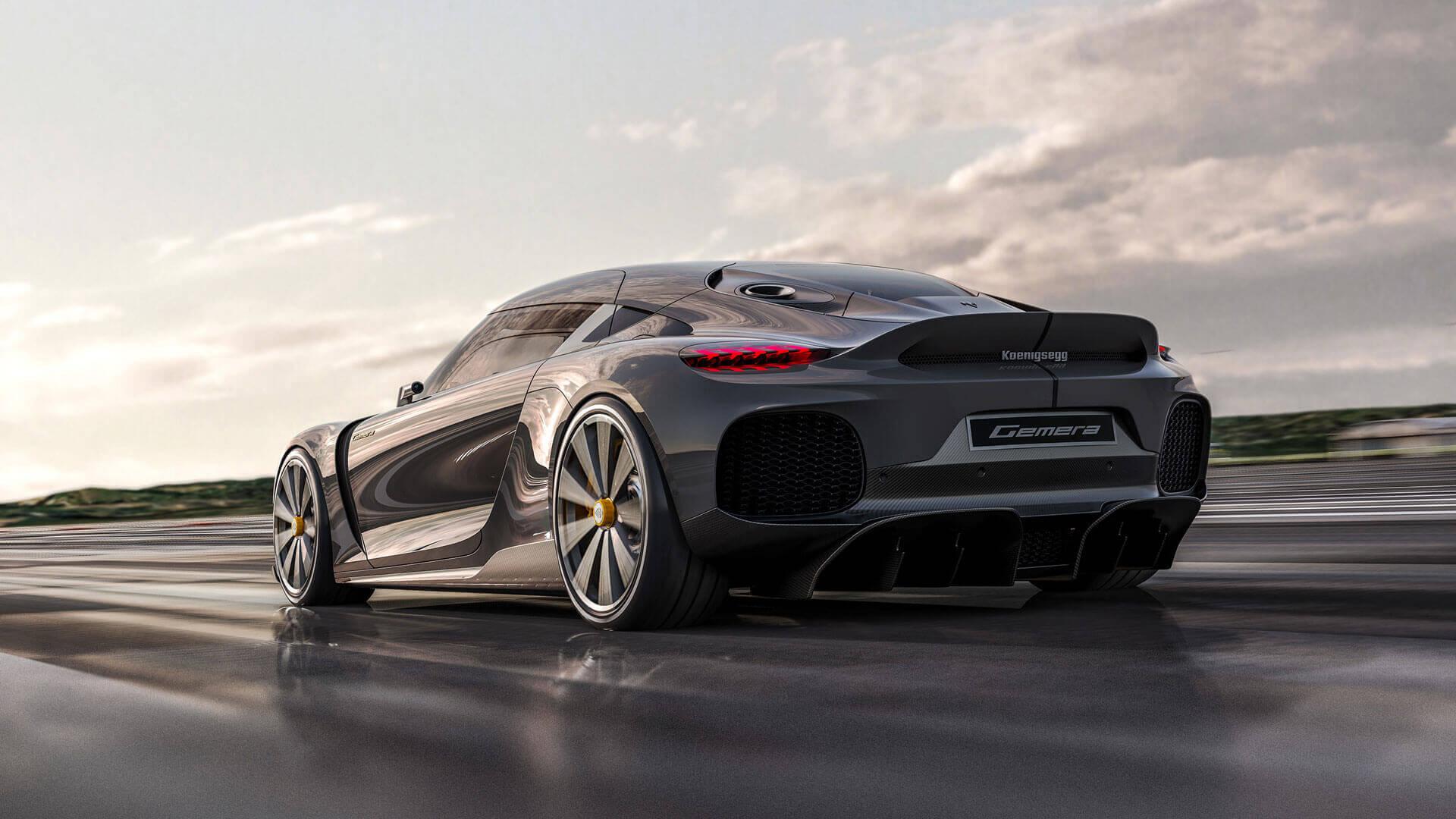 Гибридный гиперкар Koenigsegg Gemera мощностью 1,27 МВт