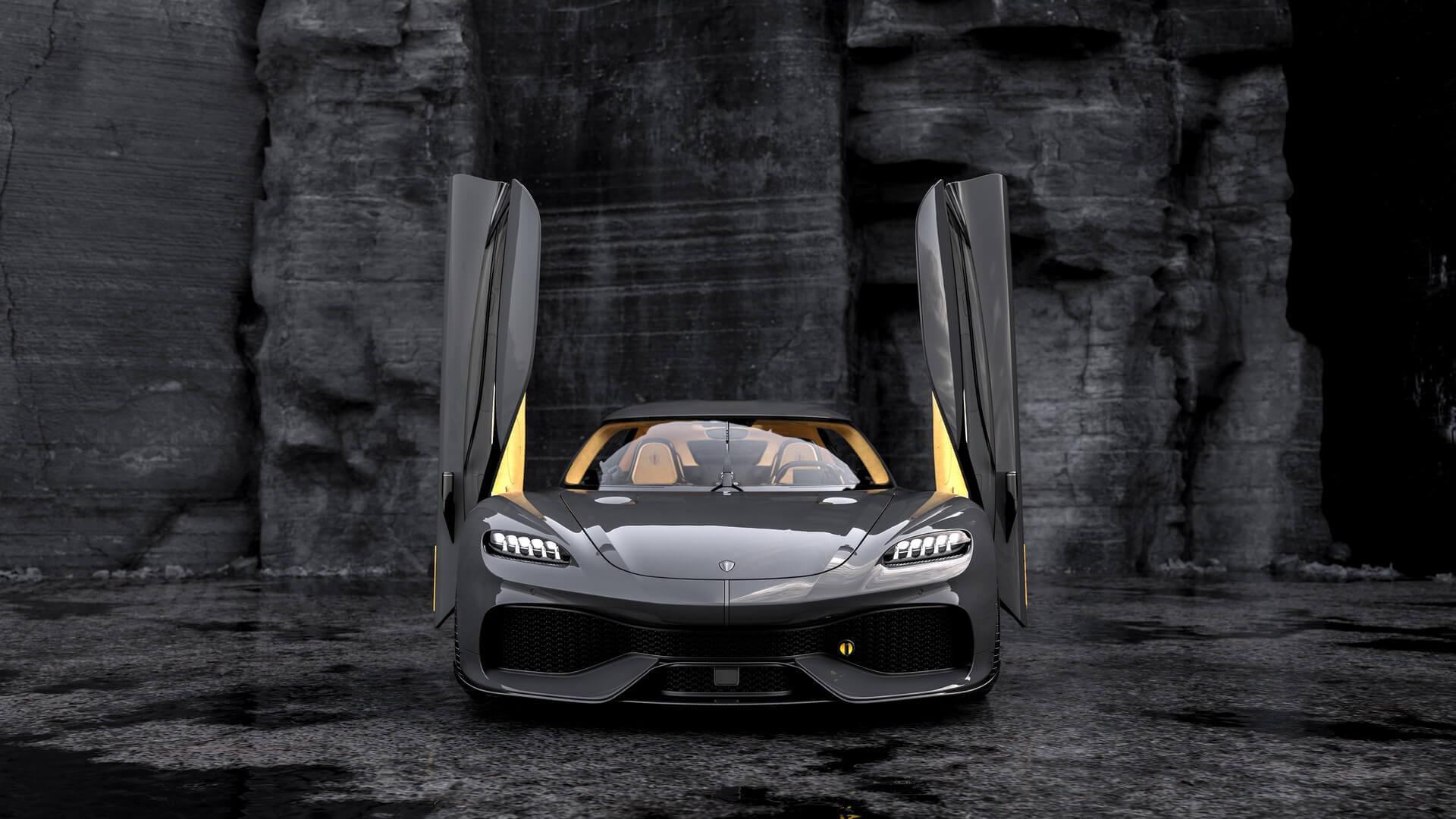 Гибрид Koenigsegg Gemera