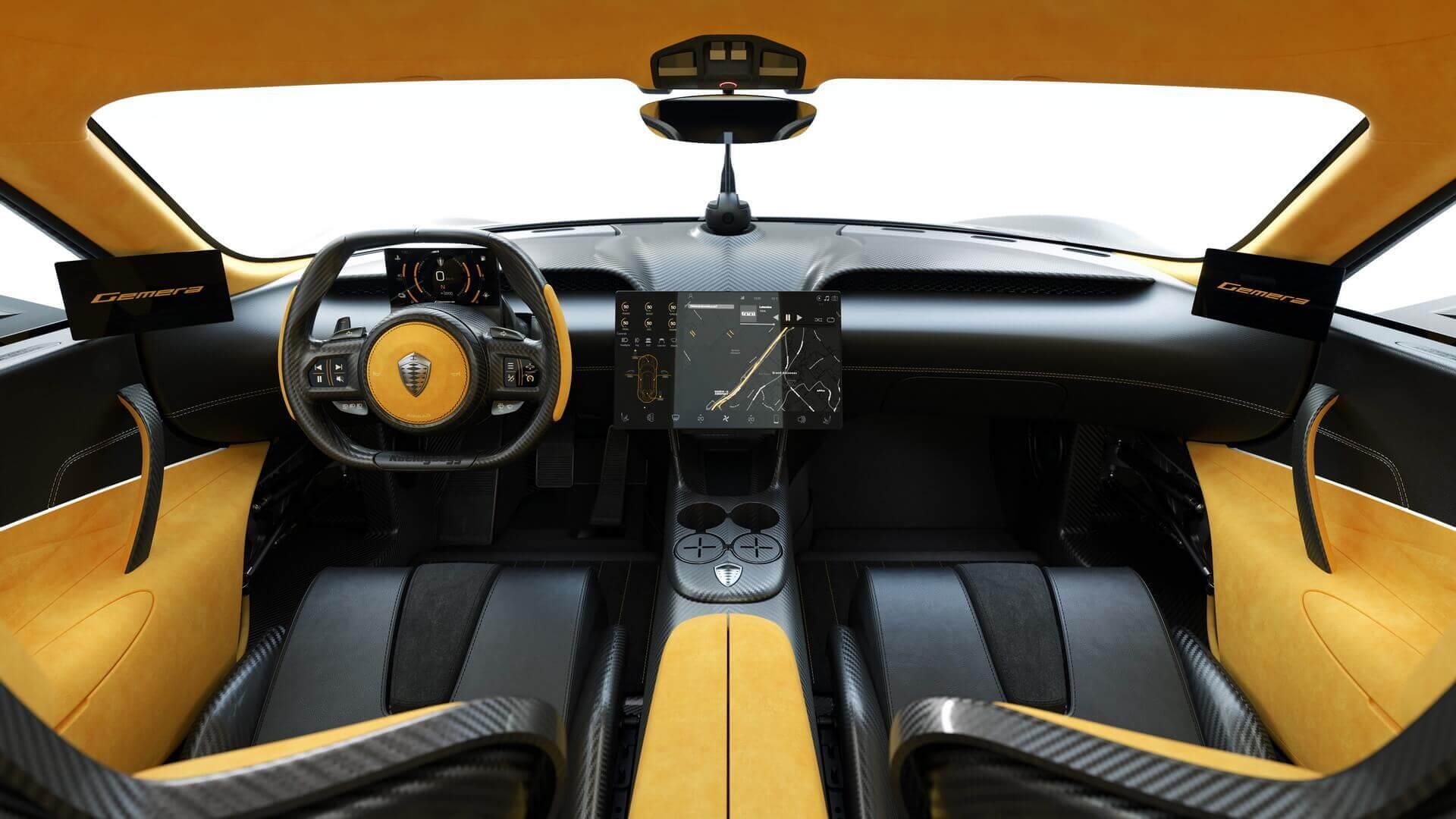 Интерьер Koenigsegg Gemera