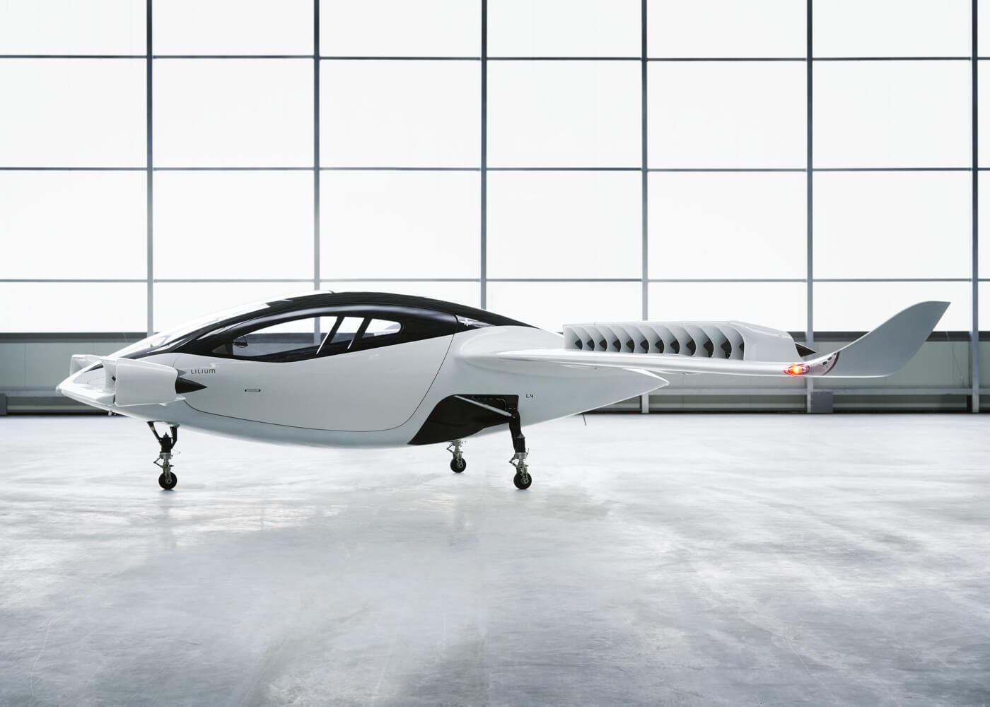 Lilium Jet: электрическое воздушное такси с вертикальным взлетом