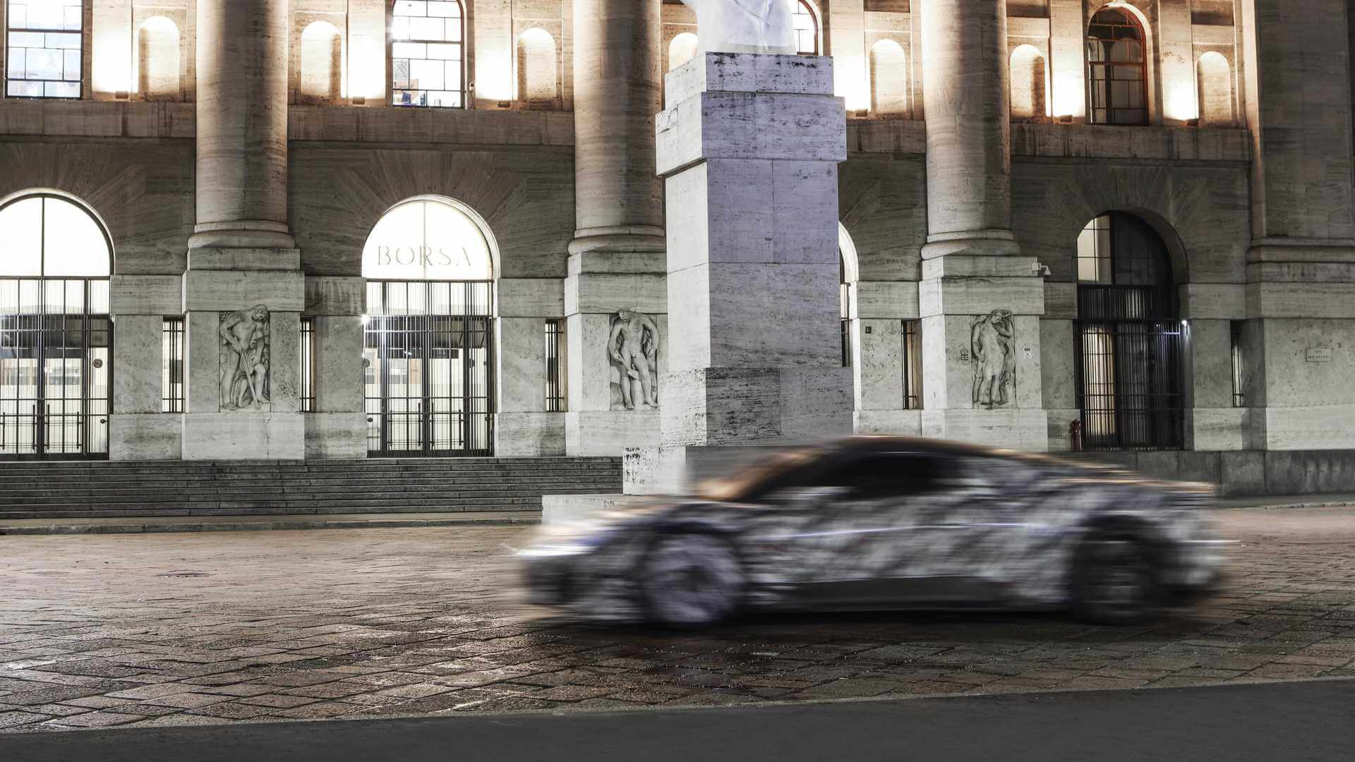Прототип будущего спортивного автомобиля Maserati MC20