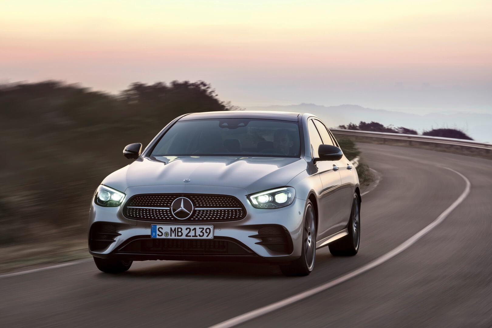 Будущий Mercedes-Benz E-Class с плагин-гибридной трансмиссией