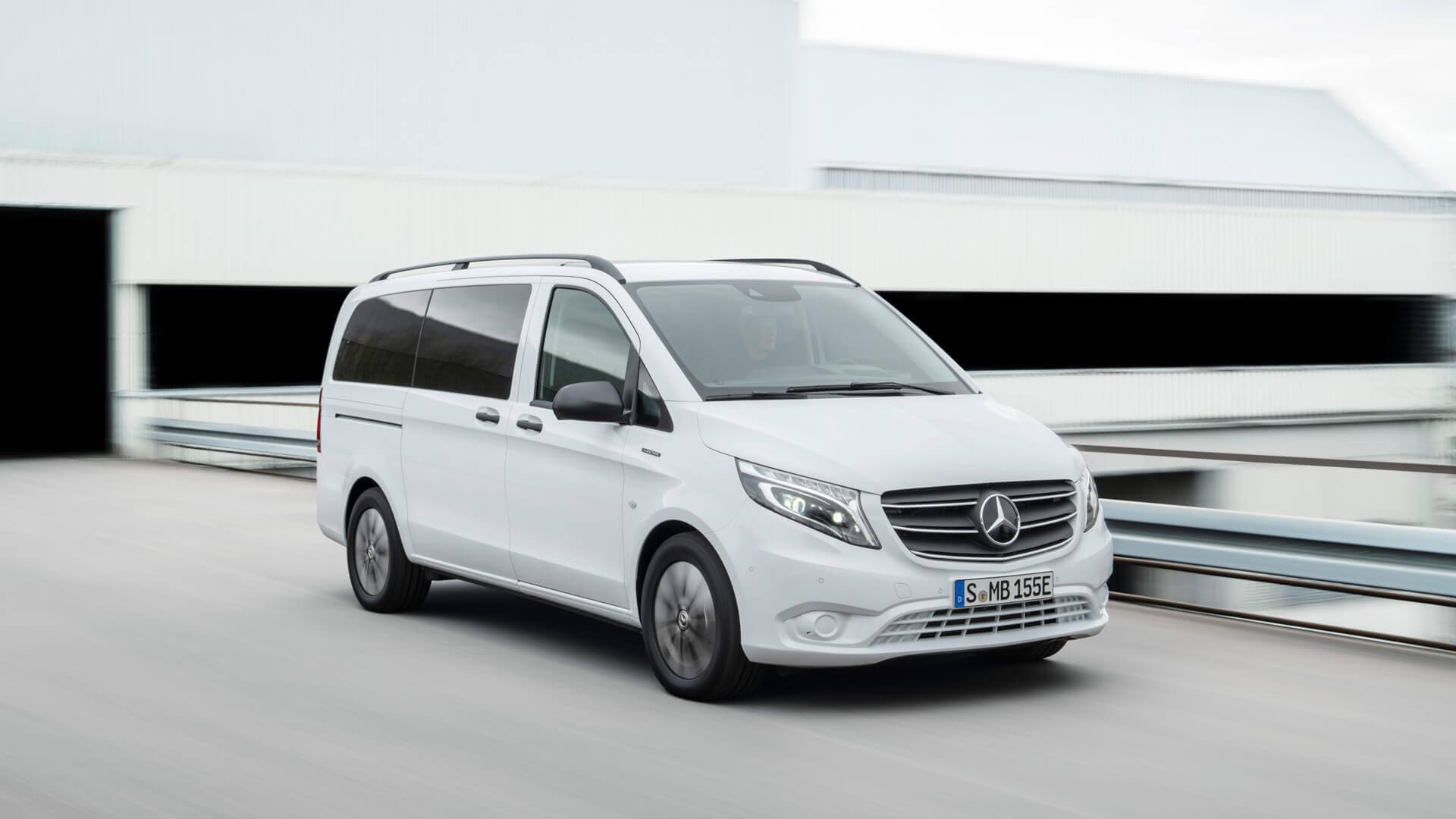 Обновленный Mercedes-Benz eVito 2020 года
