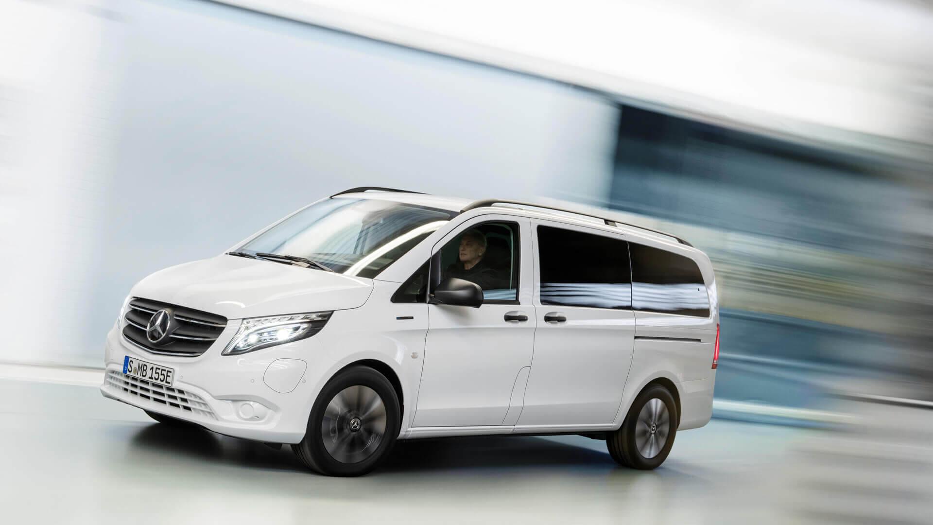 Обновленный Mercedes-Benz eVito получил запас хода 421 км