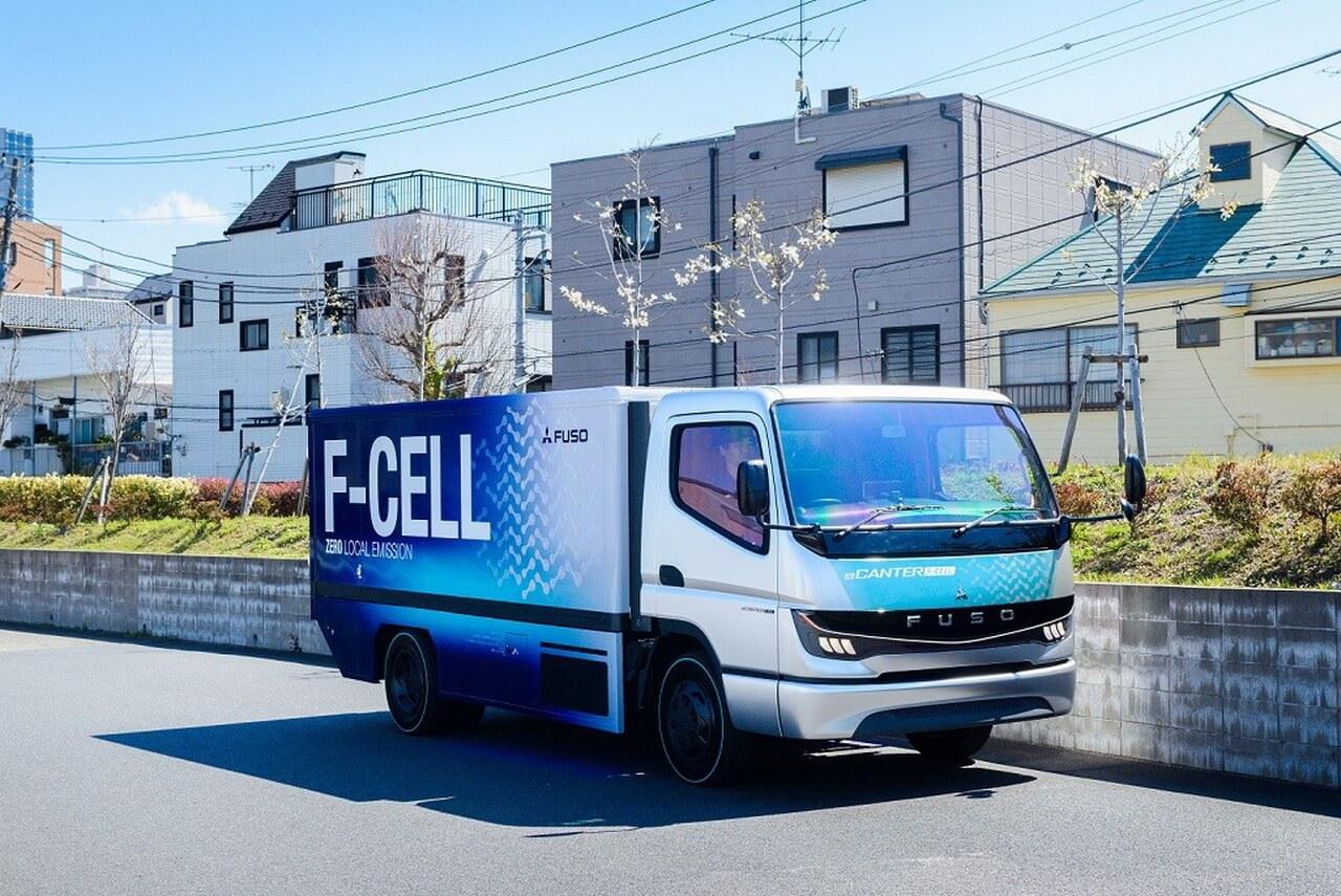 Водородный грузовик FUSO eCanter F-CELL