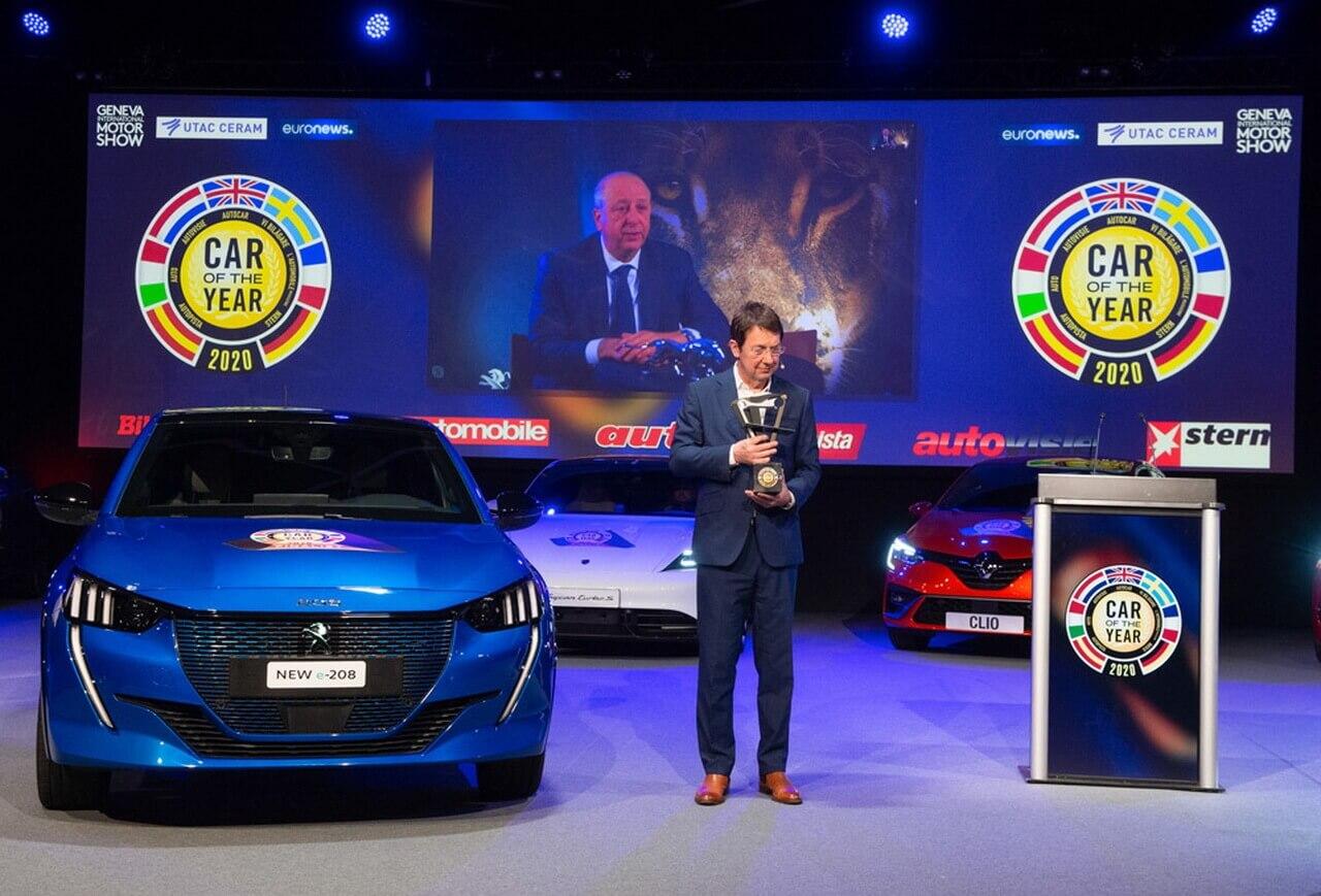 Peugeot 208 — европейский автомобиль 2020 года