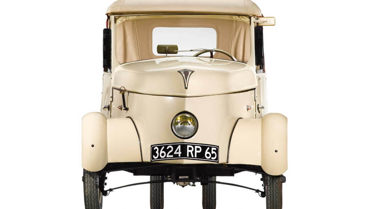 Необыкновенный электромобиль «Light City Car» эпохи войны
