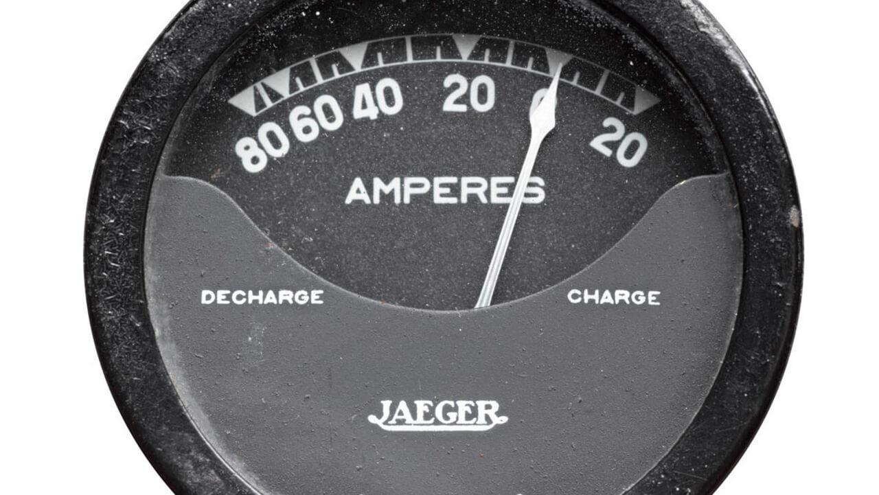 Аналоговая панель указания уровня заряда Peugeot VLV