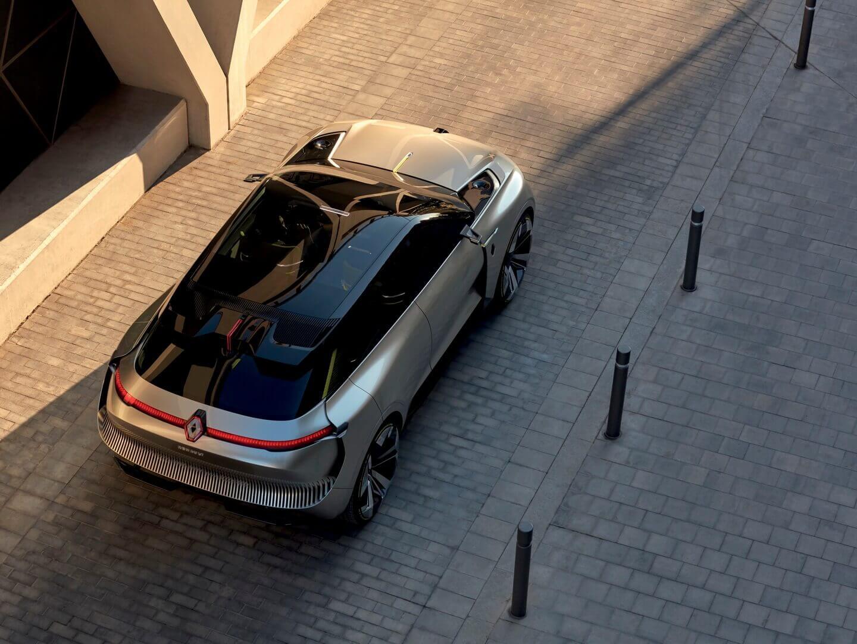 Renault показал EV-концепт способный менять длину иемкость батареи