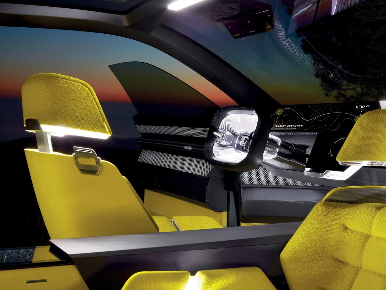Интерьер-трансформер Renault MORPHOZ