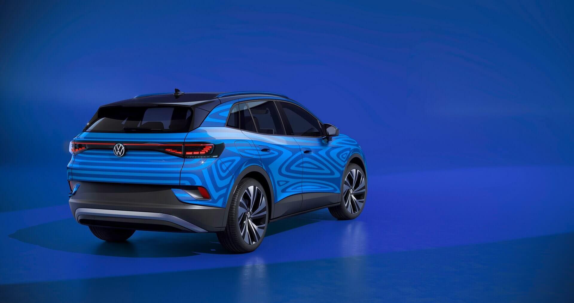 Электрический кроссовер Volkswagen ID.4
