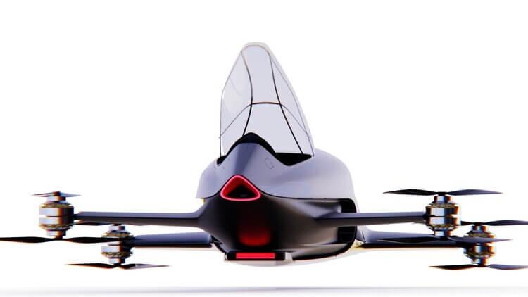 eVTOL speeder MK4