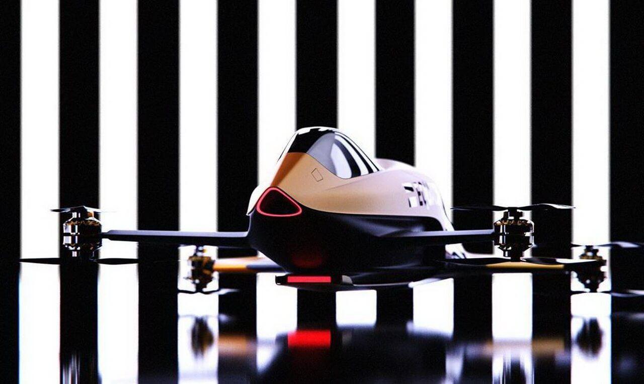 Электрический летательный аппарат Airspeeder