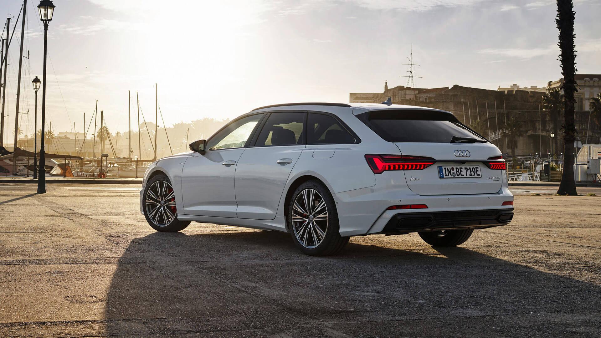 Audi выпускает спортивный PHEV-универсал A6 Avant TFSI e quattro