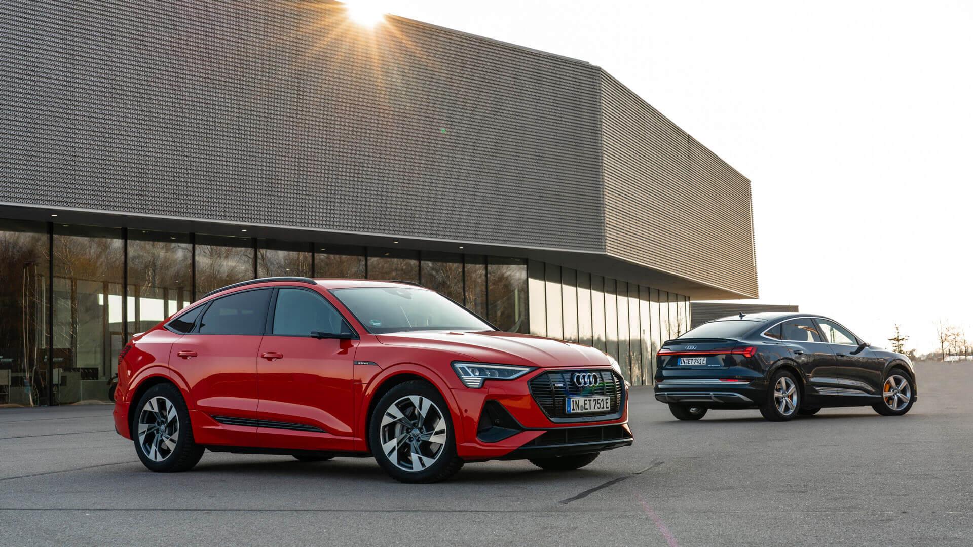 Электрический купе-кроссовер Audi e-tron Sportback