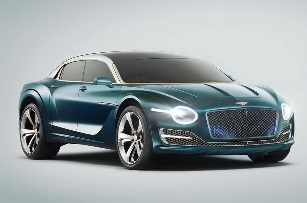 Рендер будущего электромобиля Bentley