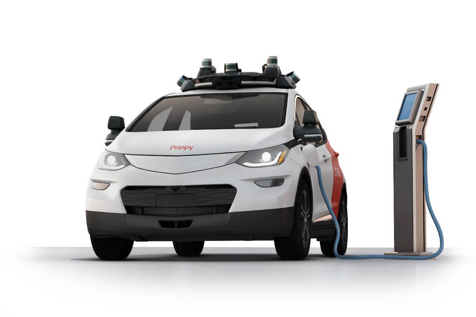 Автономный электромобиль Cruise AV на базе Chevrolet Bolt EV