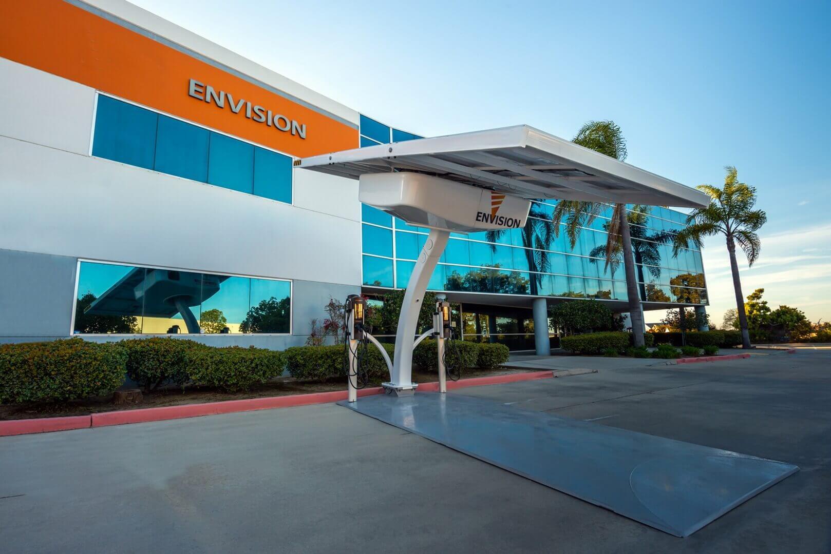 «Солнечная» зарядная станция Envision Solar EV ARC