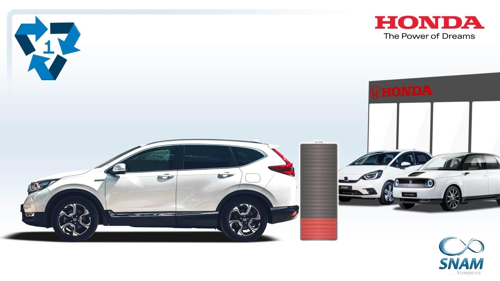 Аккумуляторы электромобилей и гибридов Honda получат «вторую жизнь»