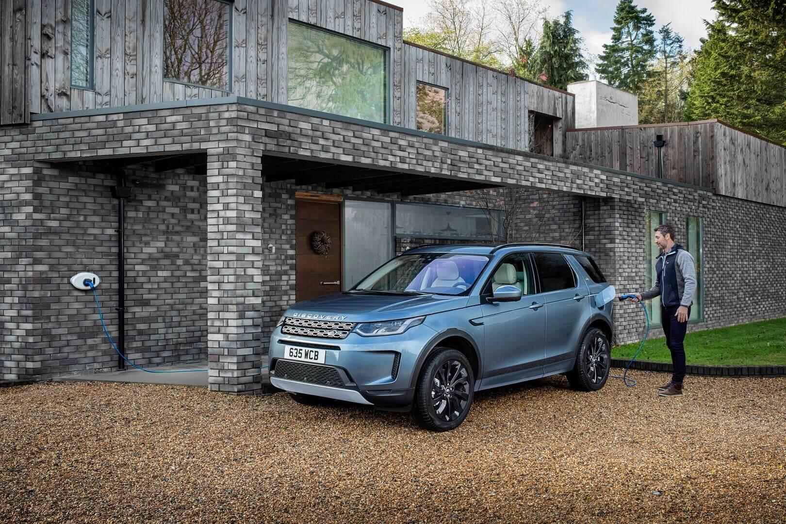 Плагин-гибрид Land Rover Discovery Sport P300e
