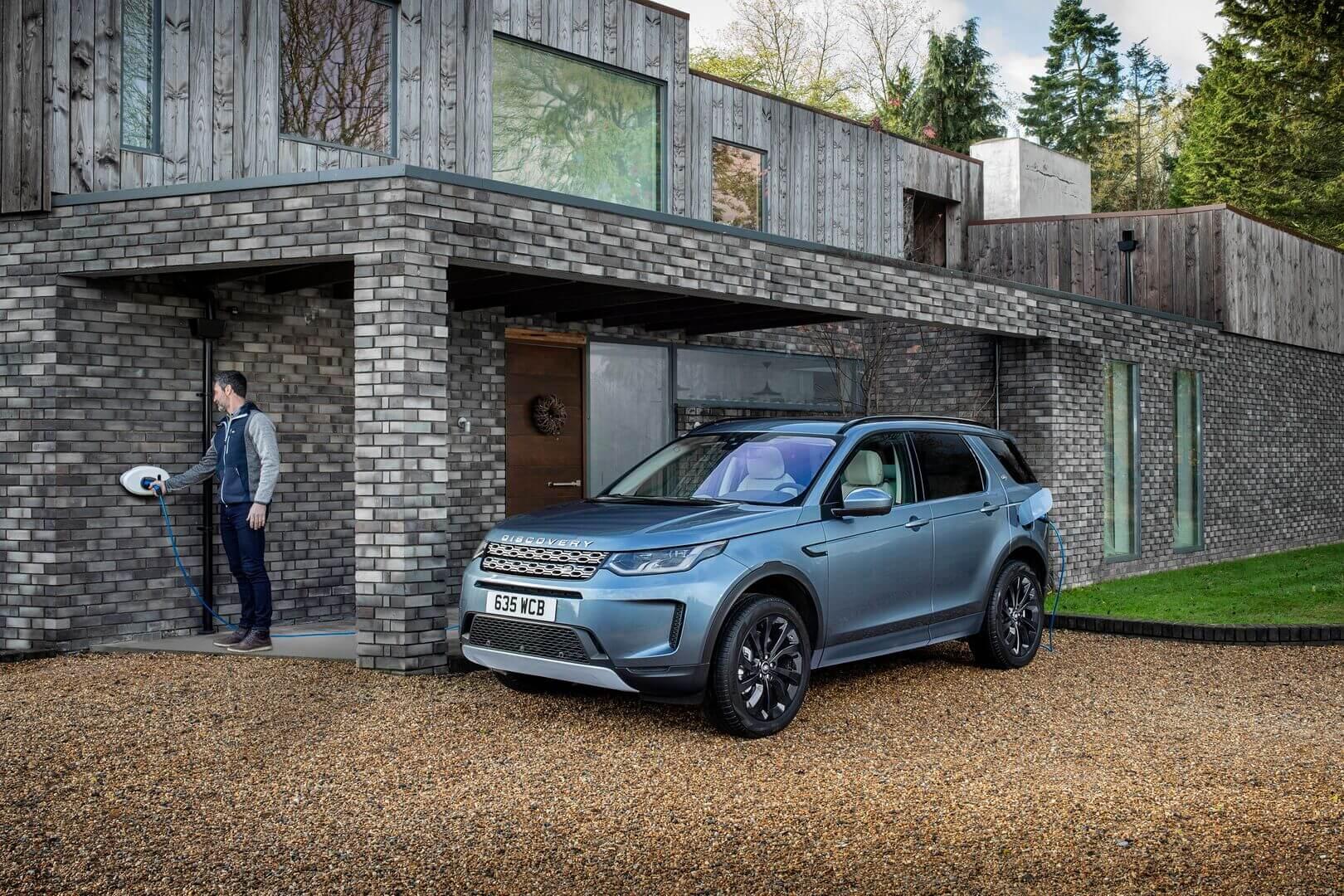 Представлен новый Land Rover Discovery Sport с плагин-гибридной технологией