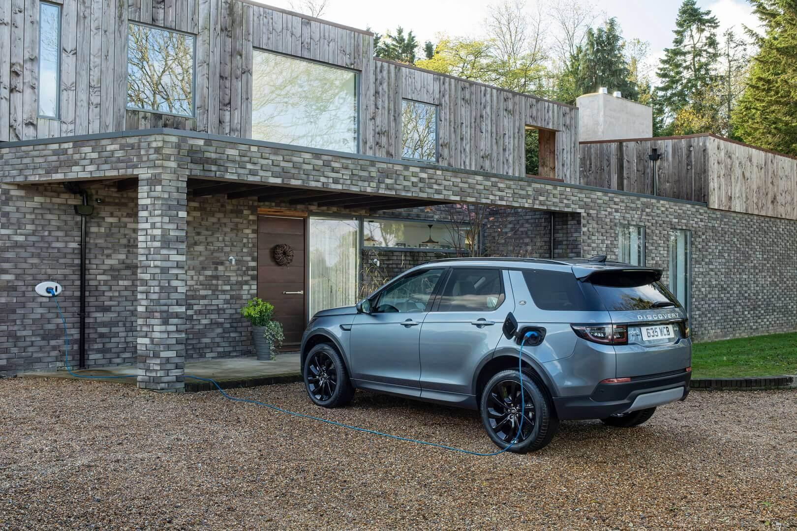 Land Rover Discovery Sport представлен в плагин-гибридной версии с электрическим запасом хода до 62 км