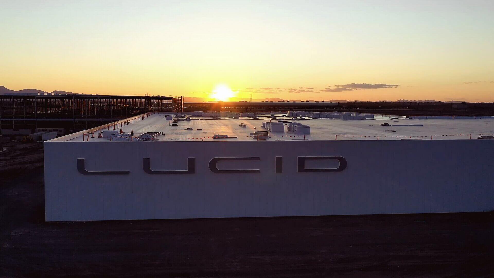 Изображение завода Lucid Motors