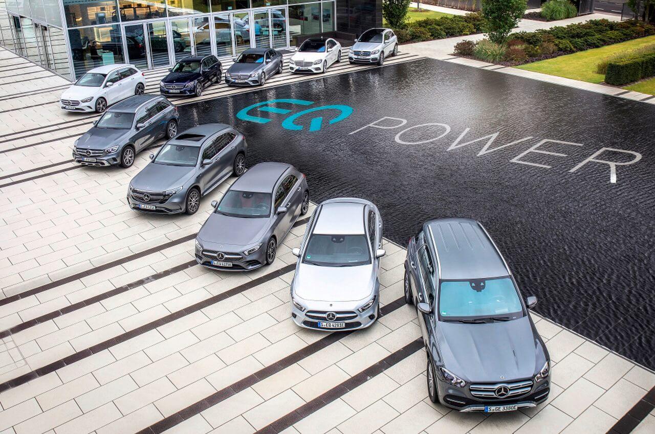 Линейка плагин-гибридов Mercedes-Benz с технологией EQ Power