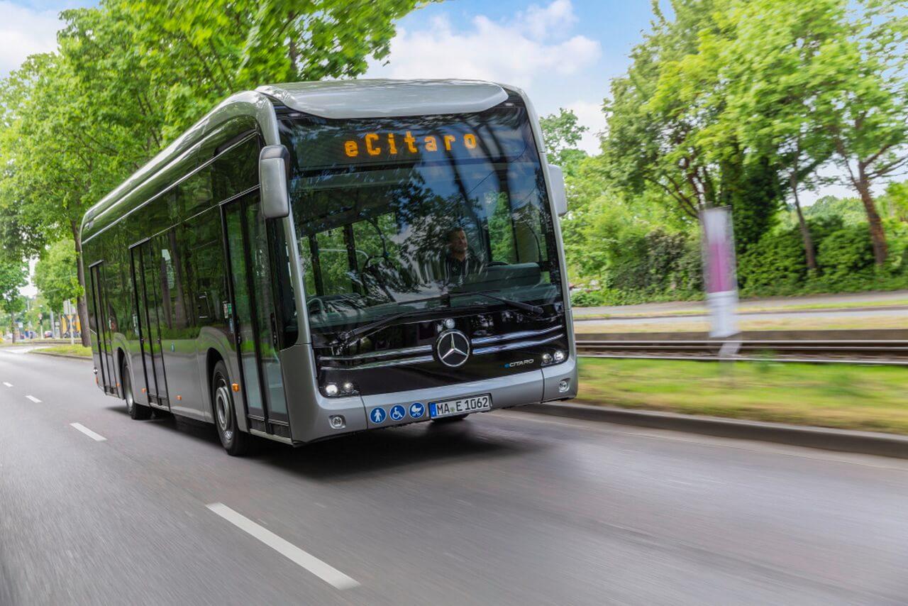 Mercedes-Benz eCitaro получил топливный элемент для увеличения запаса хода