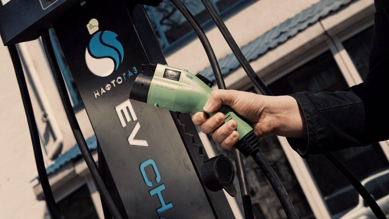 Первая зарядная станция для электромобилей в рамках пилотного проекта WeEnergy открыта в Киеве
