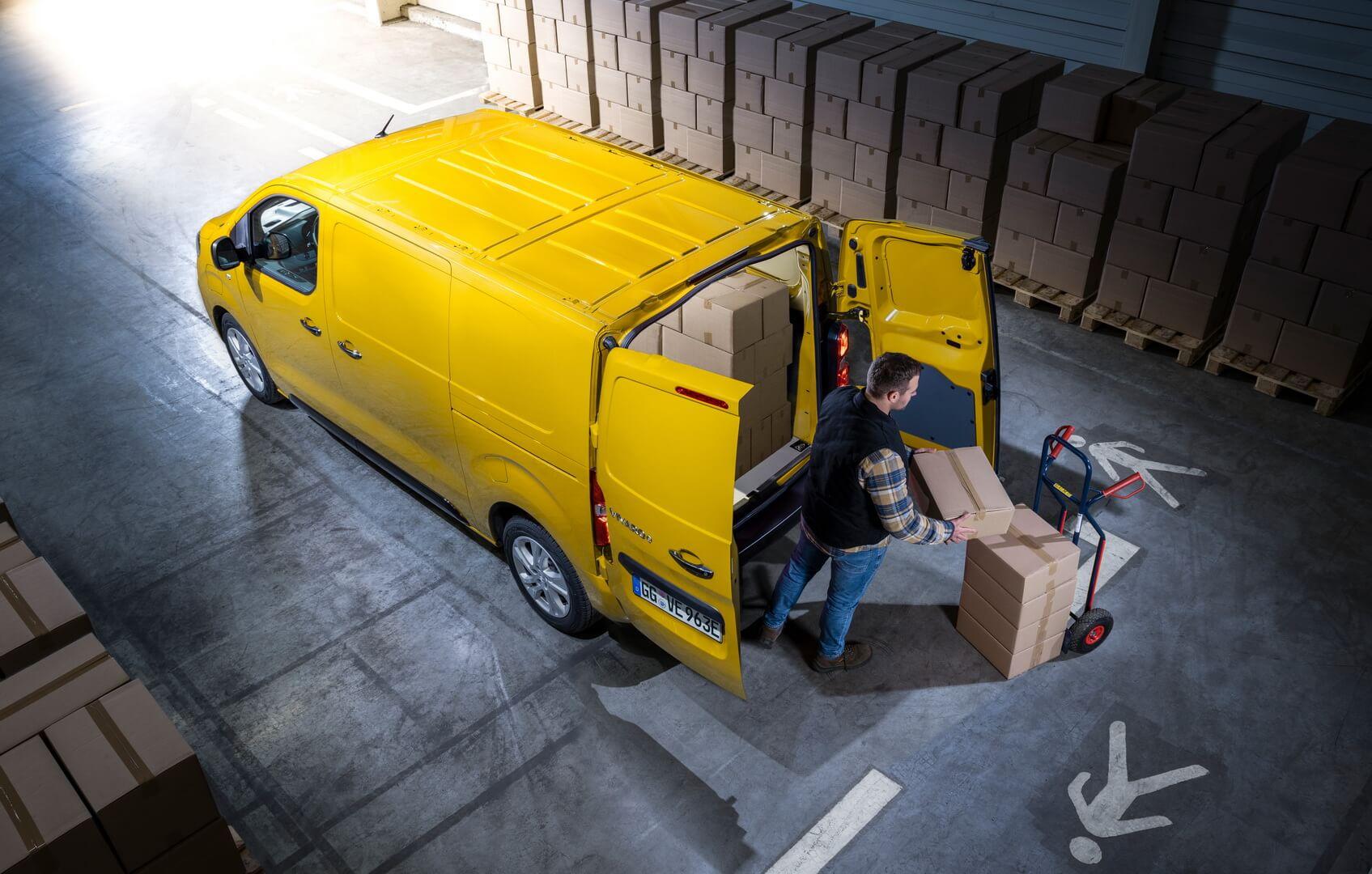 Opel Vivaro-е будет доступный втрех вариантах длины