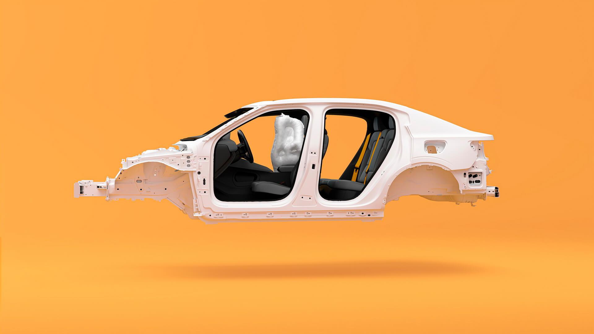 Внутренние боковые подушки безопасности для передних пассажиров