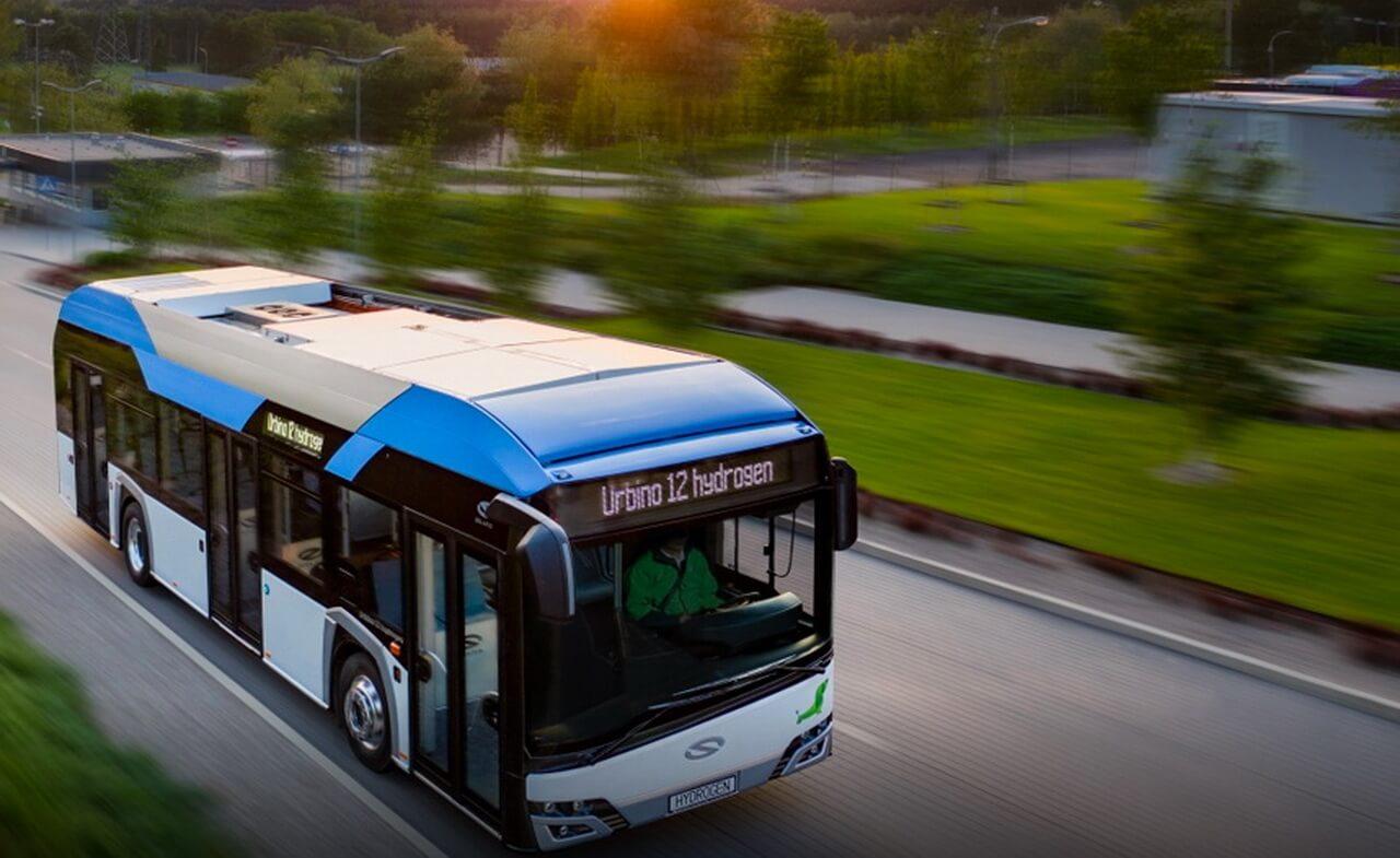 Водородный автобус Solaris Urbino 12