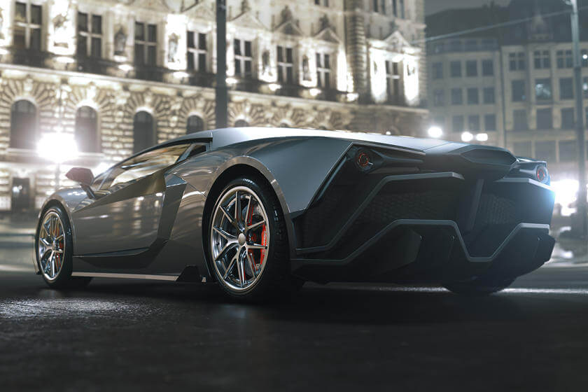 Tritium Automotive построит всего 11 экземпляров своего электрического суперкара мощностью 671 л.с.