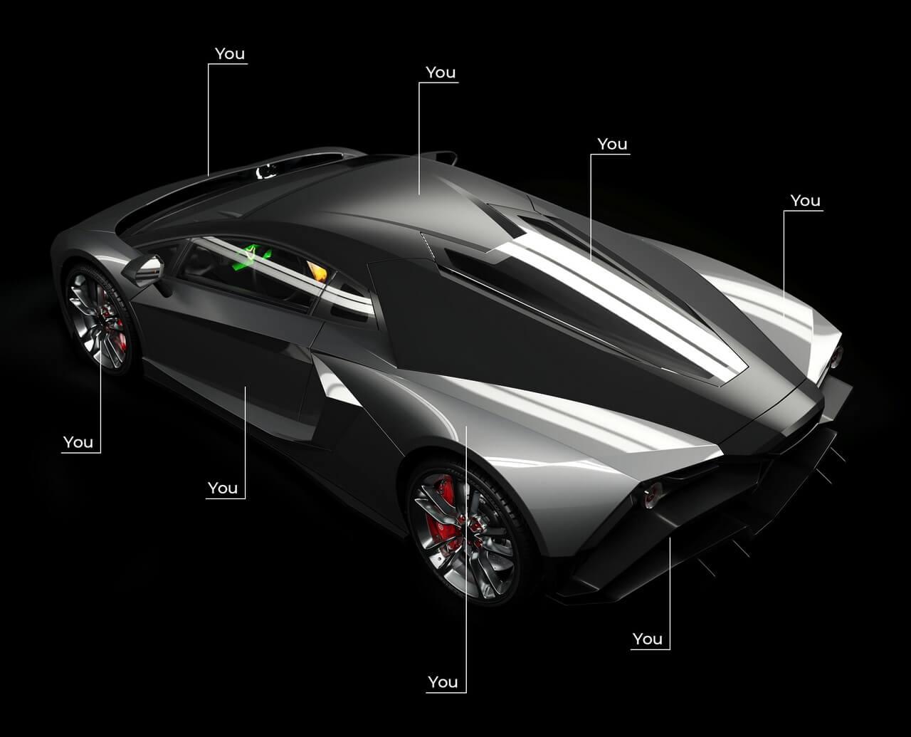 Настраиваемый электрический суперкар Tritium Automotive