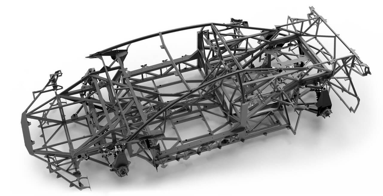 Углеродный композитный корпус, аналогично используемый командами F1