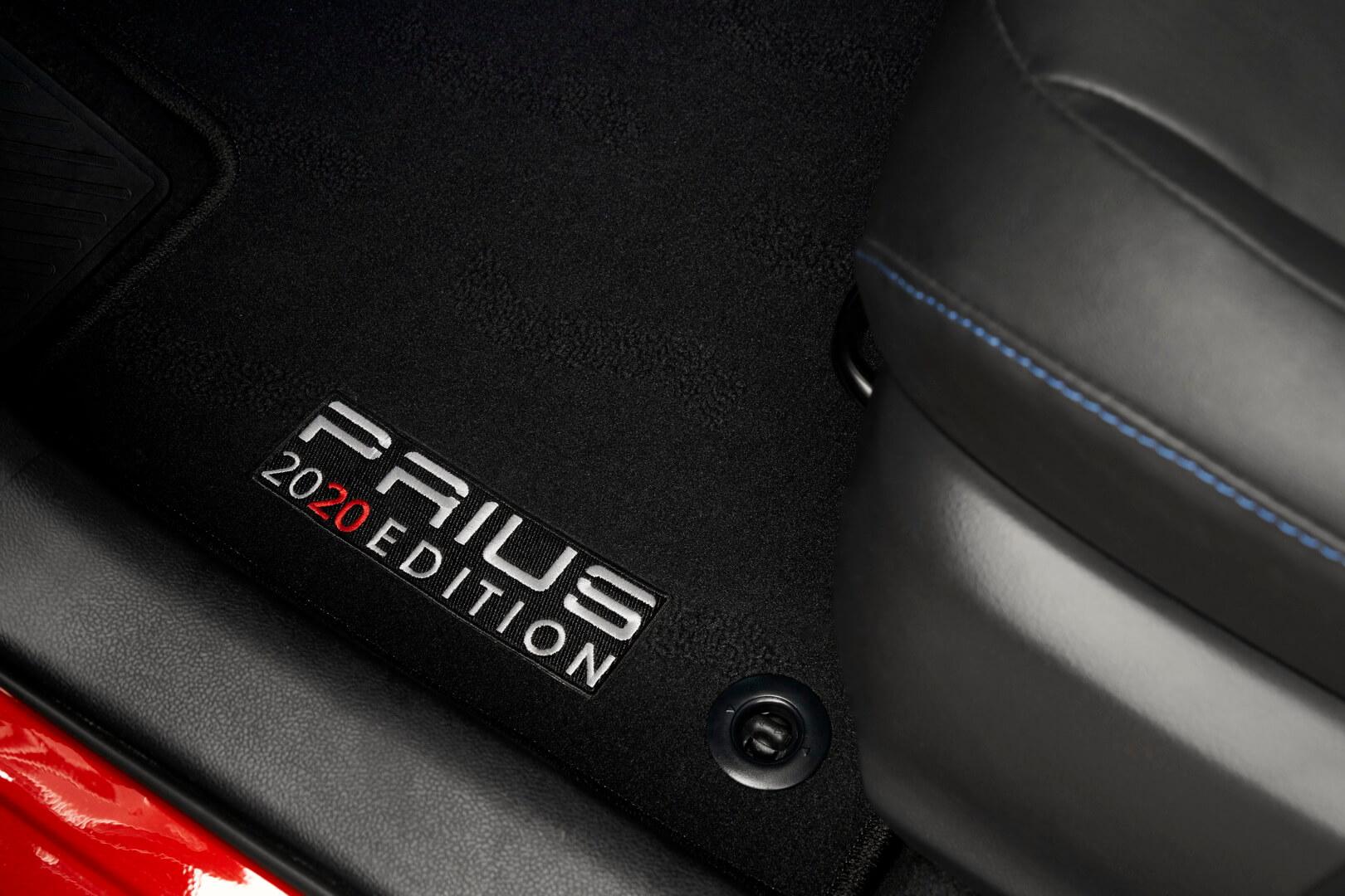 Напольные коврики с символикой Prius 2020 Edition