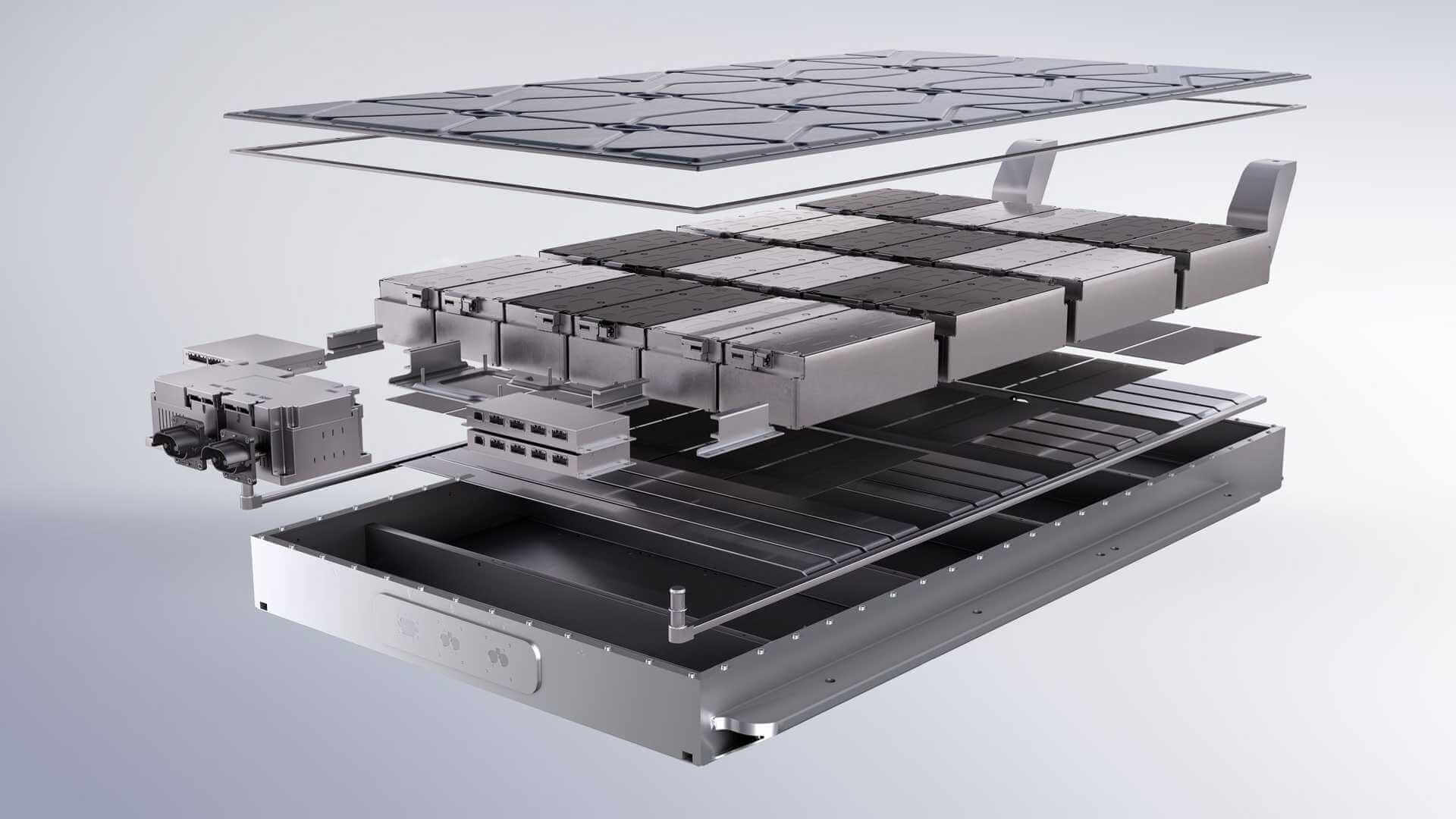 Конструкция батарея AIWAYS U5 снижает риск возникновения проблем с безопасностью