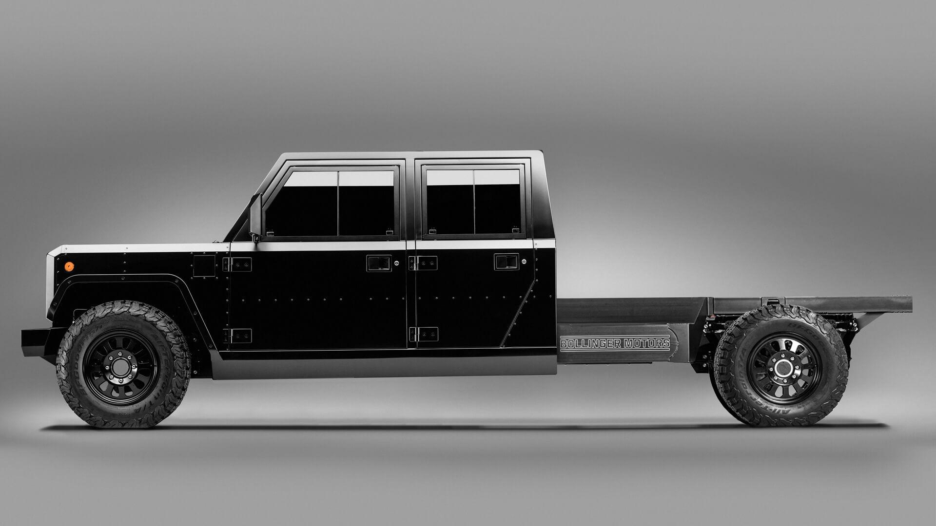 Bollinger B2 Chassis Cab: идеальный электрогрузовик для коммерческого использования
