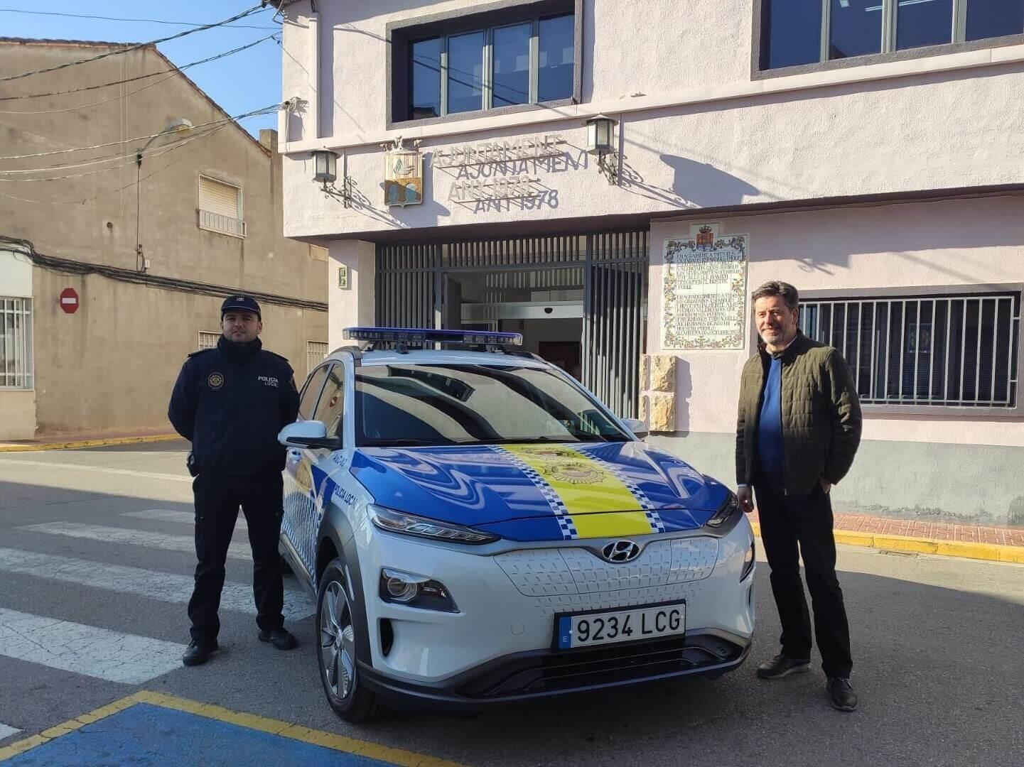 Hyundai Kona Electric в Валенсии, Испания