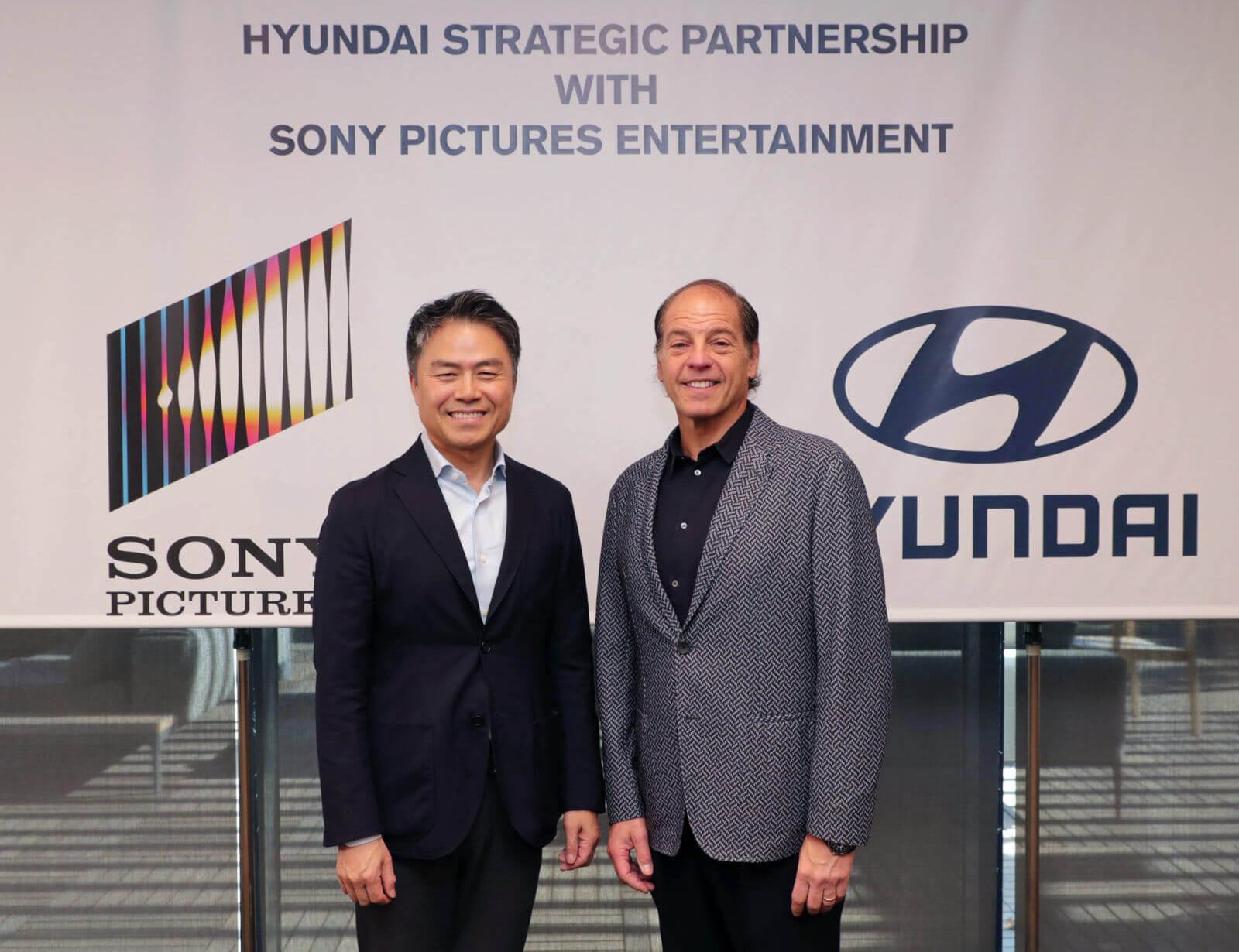 Hyundai Motor и Sony Pictures объявили о стратегическом партнерстве