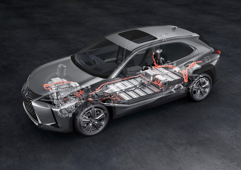 Lexus запустит в продажу свой первый электромобиль UX 300e с 10-летней гарантией на тяговую батарею