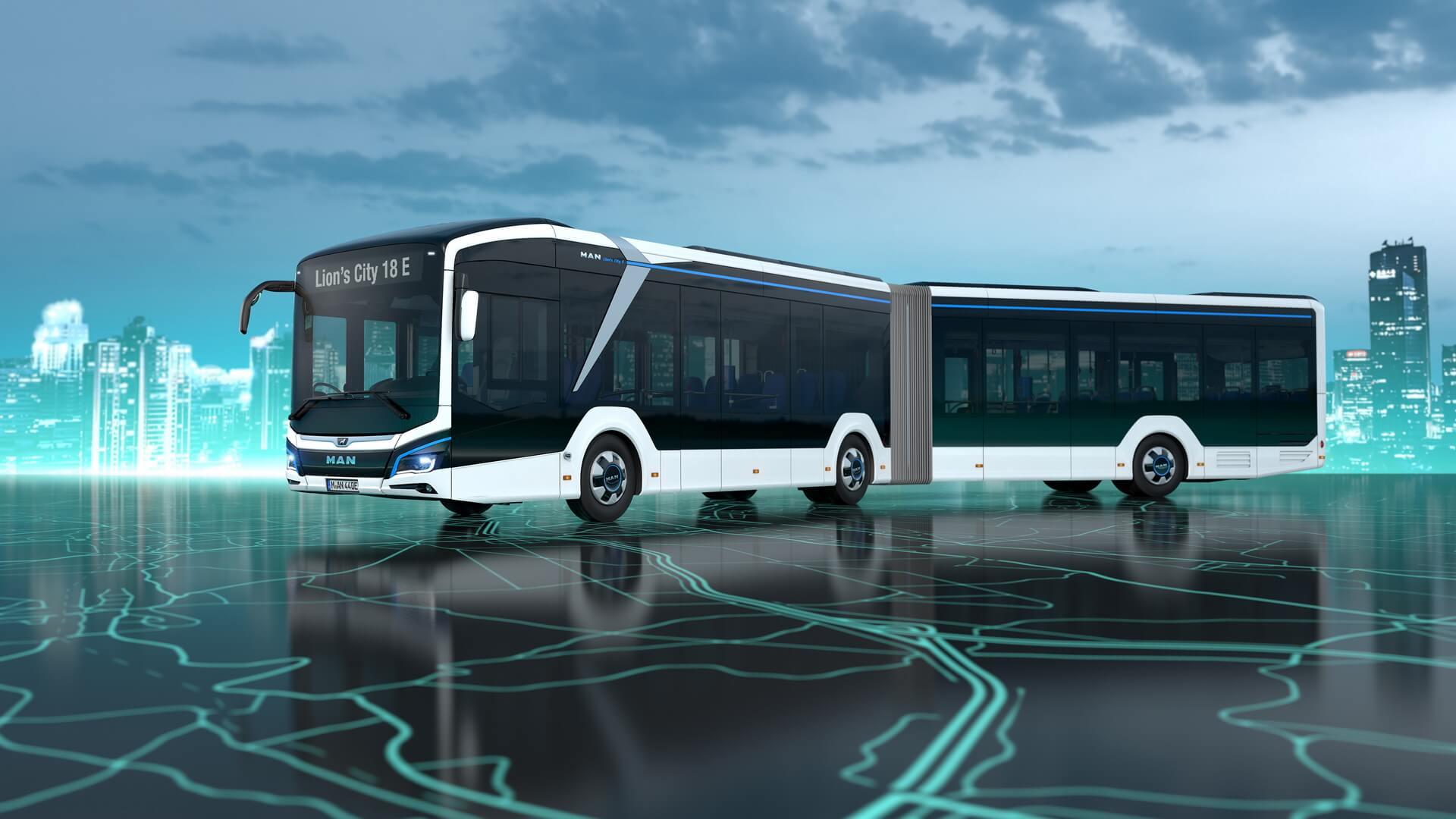 18-метровый электрический Lion's City 18E на120 пассажиров